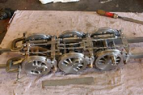 3/4 scale 3-1/2 gauge live steam engine locomotive castings 0-6-0