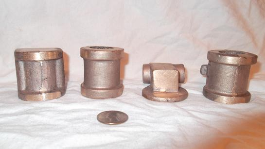 Van Brocklin air water pump castings