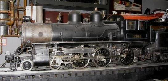 "1"" scale 4-3/4"" gauge live steam castings H.J. Coventry B8 class 4-6-0 Ten Wheeler"