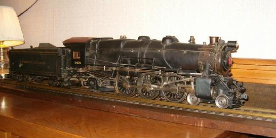 Pennsylvania Railroad live steam model