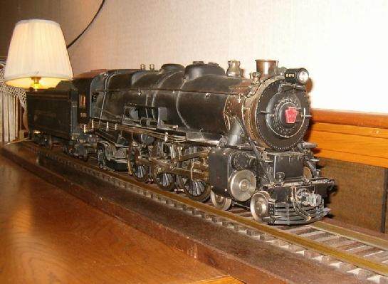H.J. Coventry Baltimore MD live steam model train engine locomotive Pennsylvania