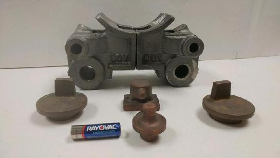 H.J. Coventry K4 cylinder castings