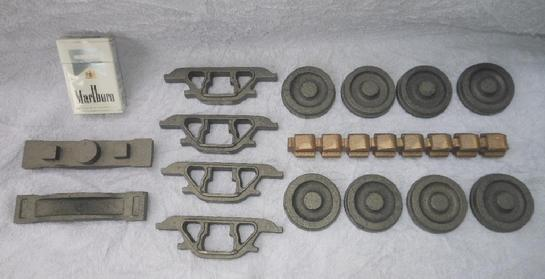 "3-1/2"" gauge live steam truck castings"
