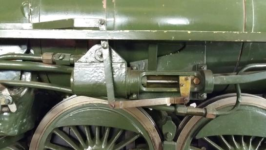 3/4 scale live steam power reverse H.J. Coventry